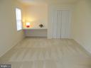Other view Back Master Bedroom Unfurnished - 8396 UXBRIDGE CT, SPRINGFIELD