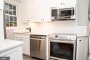 New Gourmet Kitchen With Custom Cabinetry - 2804 S ABINGDON ST #B, ARLINGTON