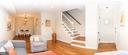 Living Room With Recessed Lights - 2804 S ABINGDON ST #B, ARLINGTON