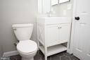 Bathroom With Porcelain Tile Floor - 2804 S ABINGDON ST #B, ARLINGTON