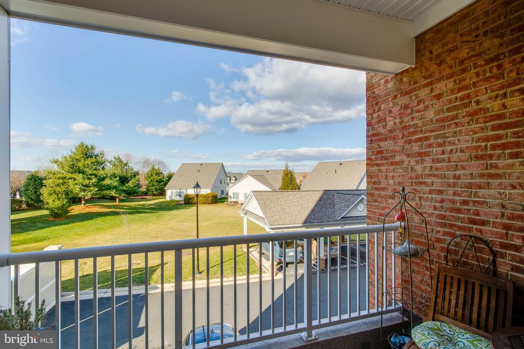 Balcony view - 20660 HOPE SPRING TER #204, ASHBURN