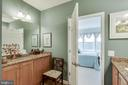 Master Bathroom with dry vanity - 20660 HOPE SPRING TER #204, ASHBURN