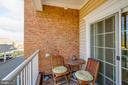 Balcony - 20660 HOPE SPRING TER #204, ASHBURN
