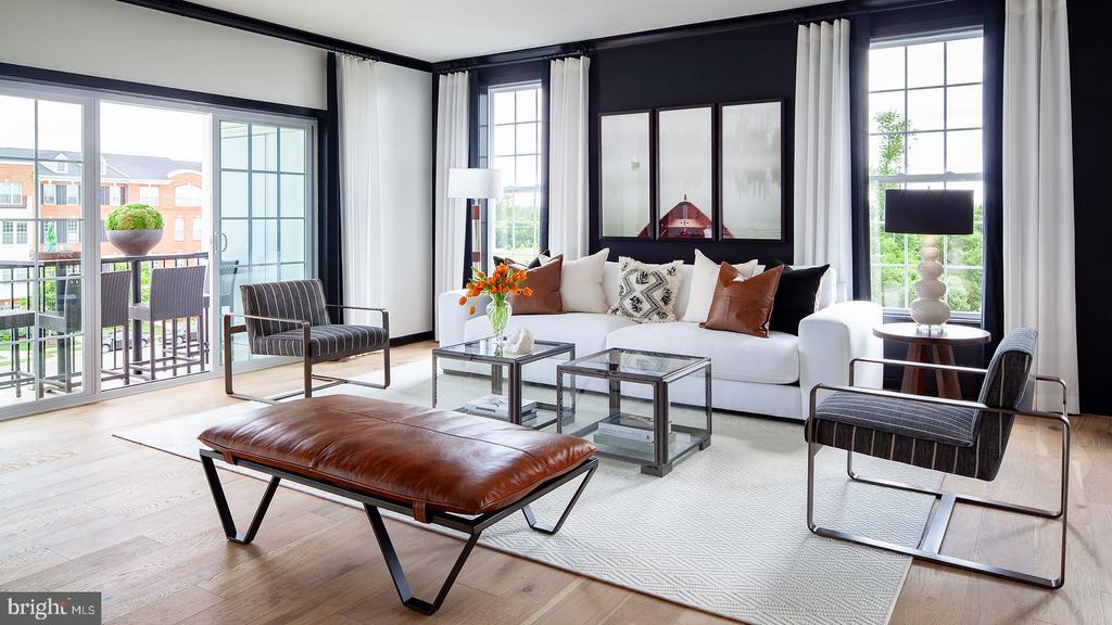 Delanie - Living Room - 43199 MONGOLD SQ, ASHBURN