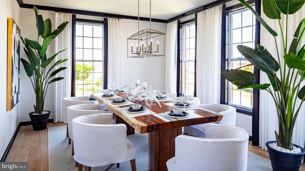 Delanie - Dining Room - 43199 MONGOLD SQ, ASHBURN