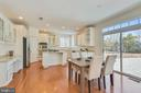 Eat In Kitchen Area - 22146 WINTER LAKE CT, ASHBURN