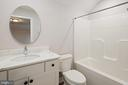 UPPER LEVEL FULL BATHROOM - 466 COURTHOUSE RD, STAFFORD