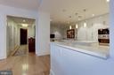 Foyer and Kitchen - 601 N FAIRFAX ST #605, ALEXANDRIA