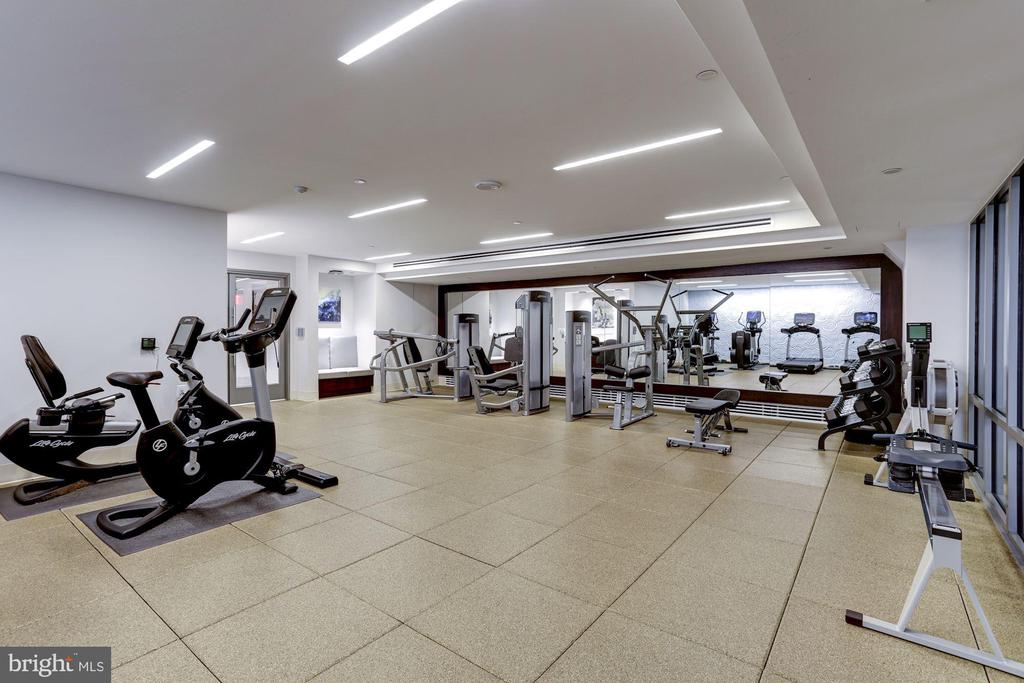Fitness Center - 601 N FAIRFAX ST #605, ALEXANDRIA