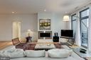 Living Room - 601 N FAIRFAX ST #605, ALEXANDRIA