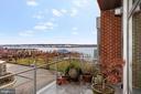 Terrace with River Views - 601 N FAIRFAX ST #605, ALEXANDRIA