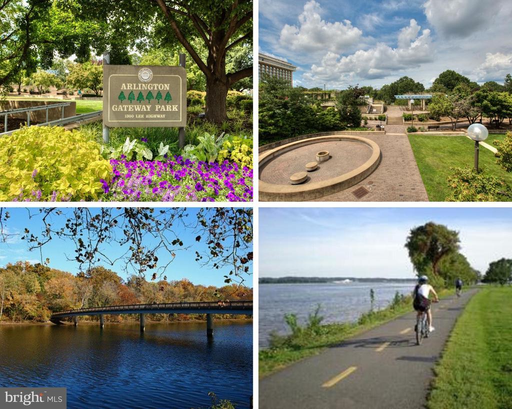 Gateway  Park, Theodore Roosevelt Island, Trails - 2137 N PIERCE CT, ARLINGTON