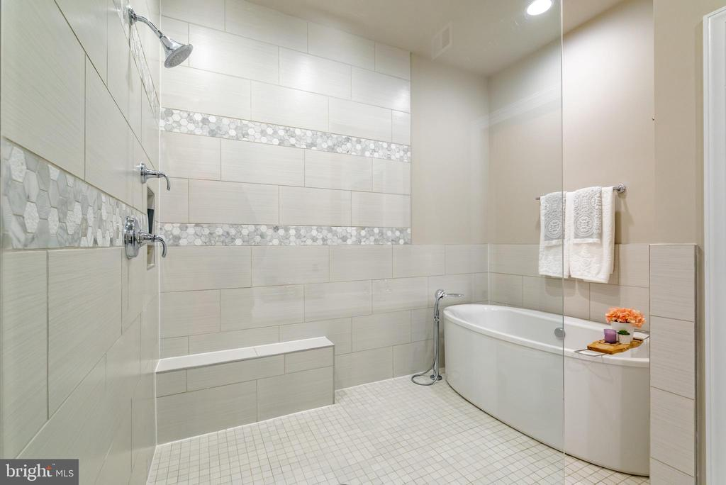 WOW of a Master Shower - 44661 BRUSHTON TER, ASHBURN