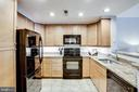 Large kitchen w/ample workspace and storage - 1111 11TH ST NW #102, WASHINGTON
