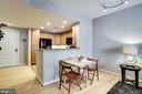 Good sized Dining area - 1111 11TH ST NW #102, WASHINGTON