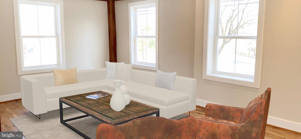 Virtual Staging Family Room - 36 MAIN ST, ROUND HILL