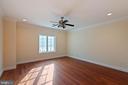 Bedroom 3 Upper Level 1 (middle front) - 8033 WOODLAND HILLS LN, FAIRFAX STATION