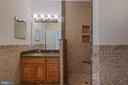 Private Full Bath in BR3 - 8033 WOODLAND HILLS LN, FAIRFAX STATION