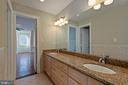 BR5 & BR6 - Jack N Jill Bathroom - Upper Level 2 - 8033 WOODLAND HILLS LN, FAIRFAX STATION