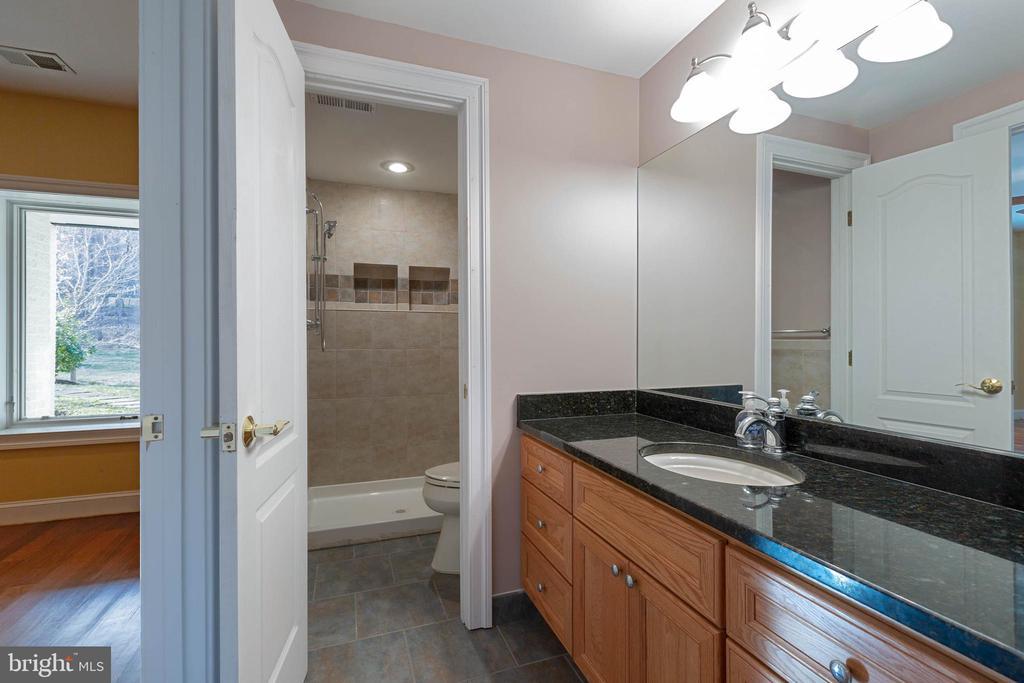 Lower Level - Full Bath - 8033 WOODLAND HILLS LN, FAIRFAX STATION