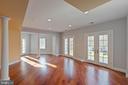 Lower Level - Recreation Room Walkout - 8033 WOODLAND HILLS LN, FAIRFAX STATION