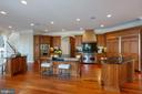 Gourmet Kitchen - 8033 WOODLAND HILLS LN, FAIRFAX STATION
