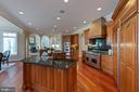 Kitchen with top-of-the-line Appliances - 8033 WOODLAND HILLS LN, FAIRFAX STATION