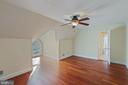 Bedroom 5 - Upper Level 2 (no closet) - 8033 WOODLAND HILLS LN, FAIRFAX STATION
