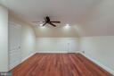 Bedroom 7 Suite - Sitting Rm  UL2 (no windows) - 8033 WOODLAND HILLS LN, FAIRFAX STATION