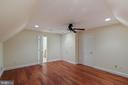 Bedroom 7 Suite - Sitting Rm UL2 (standard closet) - 8033 WOODLAND HILLS LN, FAIRFAX STATION