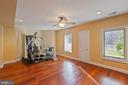 Lower Level - Exercise Room - 8033 WOODLAND HILLS LN, FAIRFAX STATION