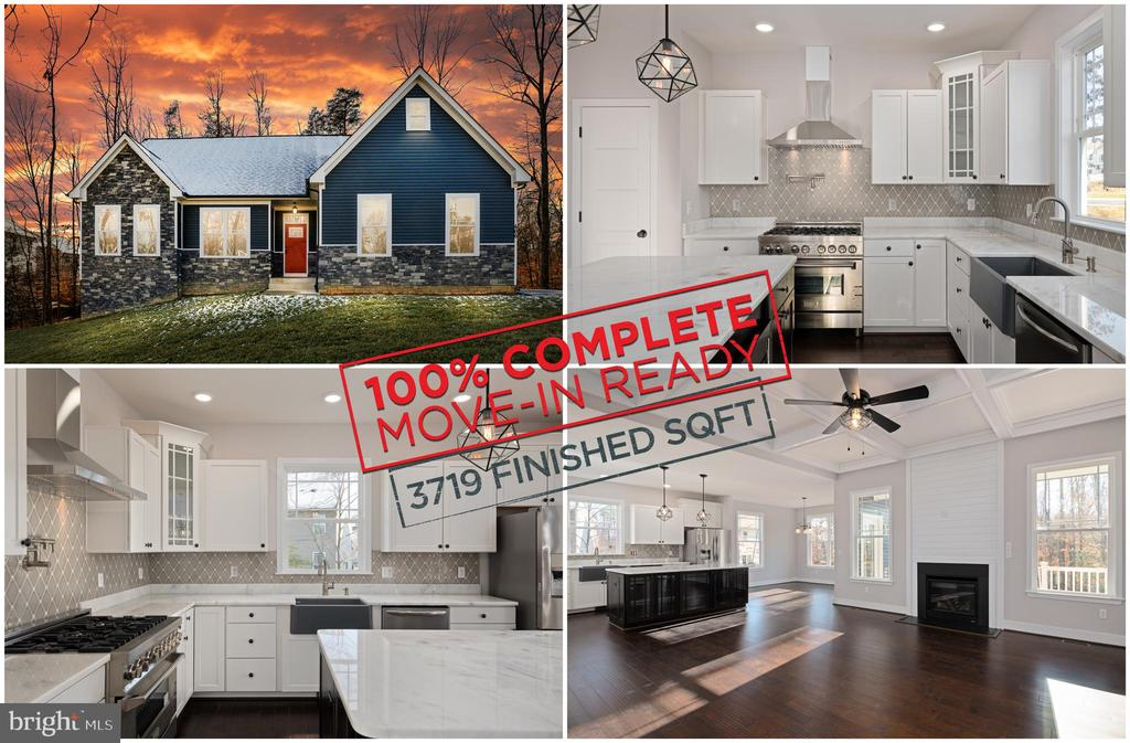 MOVE-IN READY NEW BUILD! - 466 COURTHOUSE RD, STAFFORD