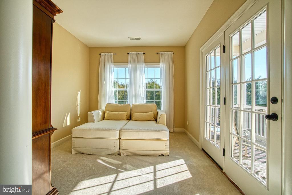 Master Bedroom Sitting Area and Private Veranda - 8251 ARROWLEAF TURN, GAINESVILLE