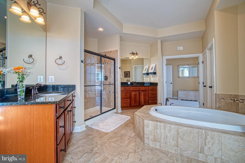 Master Bathroom has Oversized Soaking Tub & Shower - 8251 ARROWLEAF TURN, GAINESVILLE