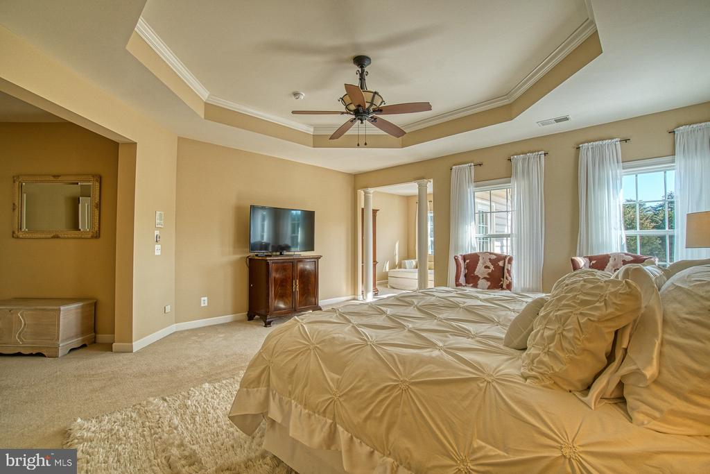 Master Bedroom has TWO Huge Walk-in Closets - 8251 ARROWLEAF TURN, GAINESVILLE