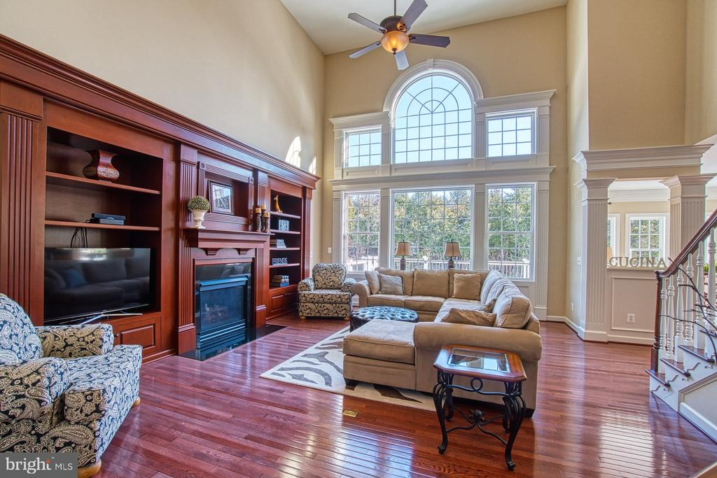 Family Room has Floor to Ceiling Windows - 8251 ARROWLEAF TURN, GAINESVILLE