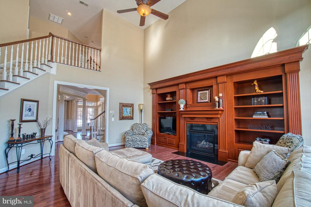 Family Room has Built-ins and Gas Fireplace - 8251 ARROWLEAF TURN, GAINESVILLE
