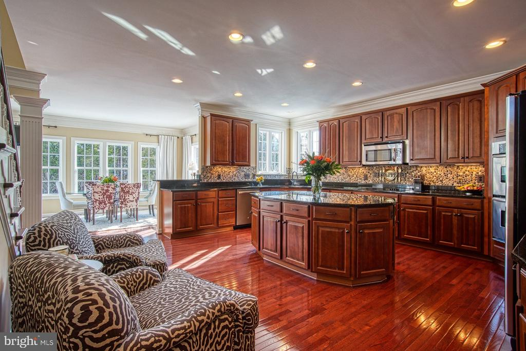 Stunning Gourmet Kitchen with Custom Backsplash - 8251 ARROWLEAF TURN, GAINESVILLE