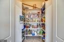 Large walk in pantry - 43546 FIRESTONE PL, LEESBURG