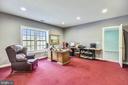 Lower Level bedroom/office - 43546 FIRESTONE PL, LEESBURG