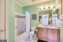 Lower level bath - 43546 FIRESTONE PL, LEESBURG