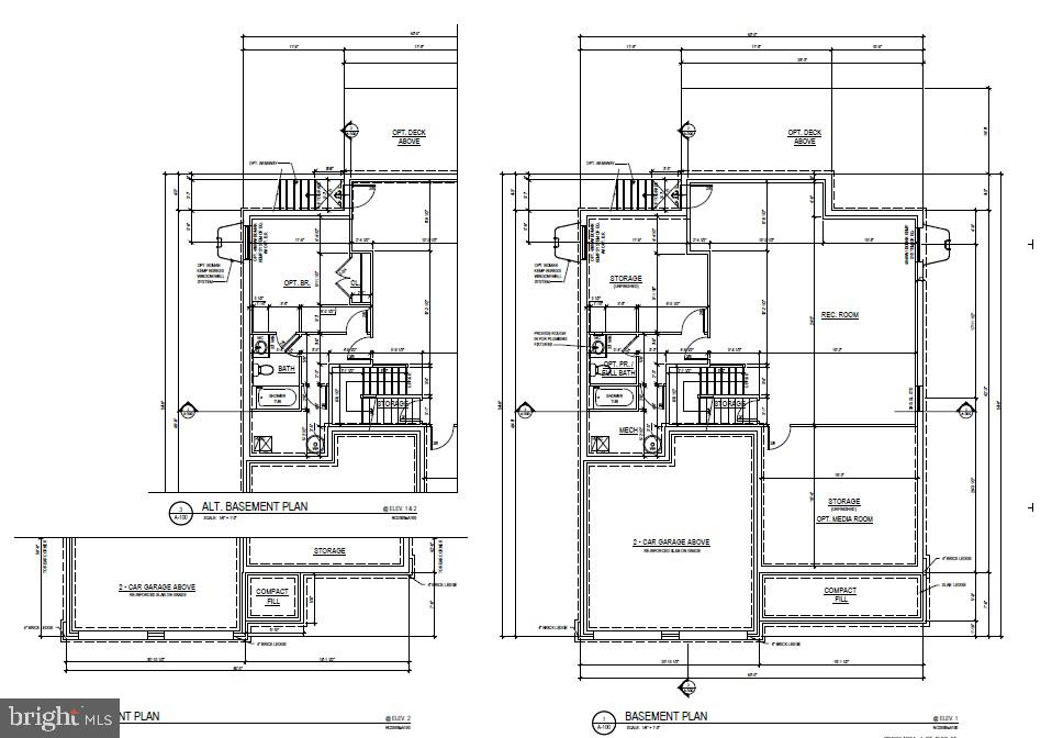 Lower Level Floor Plan - 2309 N TUCKAHOE ST, ARLINGTON