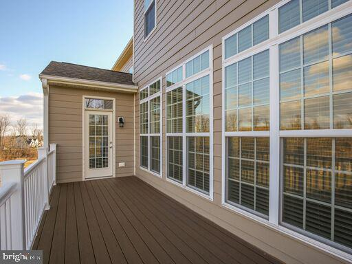 Enjoy the stunning views from the back deck. - 220 LACOSTA CT, WINCHESTER