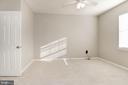 Master bedroom - 12112 GARDEN GROVE CIR #401, FAIRFAX