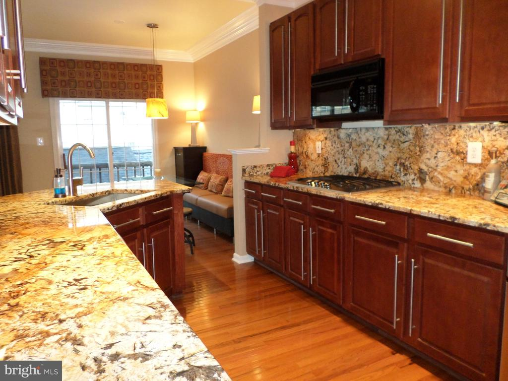 Gourmet Kitchen - 13409 RISING SUN LN, GERMANTOWN