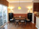Built In Banquette - 13409 RISING SUN LN, GERMANTOWN