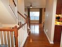 Main Level Hall - 13409 RISING SUN LN, GERMANTOWN