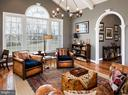 Club room w/beamed vaulted ceiling - 18293 WILD RASPBERRY DR, PURCELLVILLE