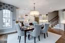 Kitchen/Breakfast Room - 1644 WHITE PINE DR, VIENNA