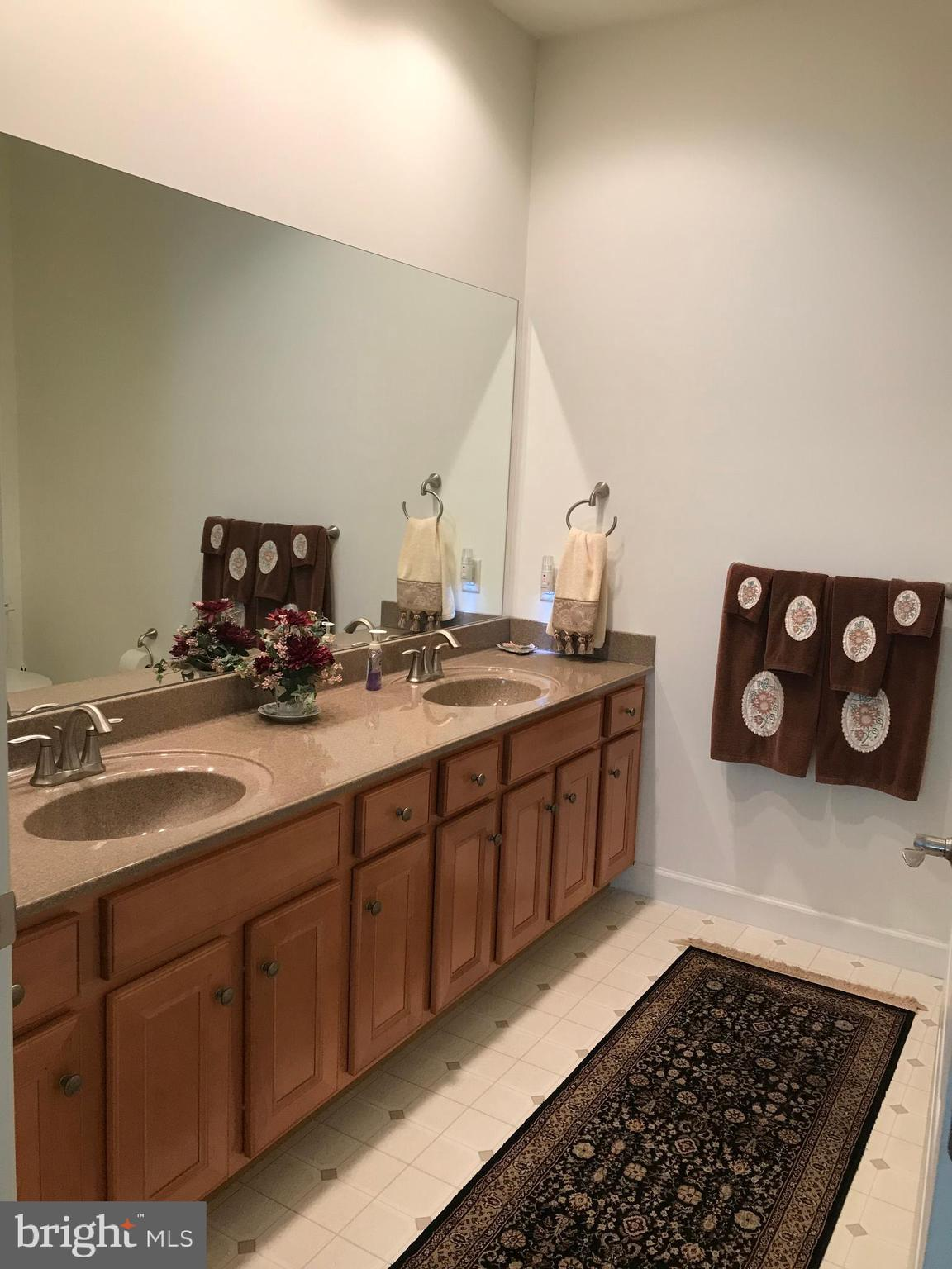 Master Bath with exceptionally large vanity